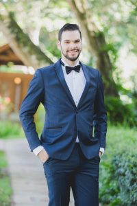 Traje navy blue-De caballeros trajes elegantes